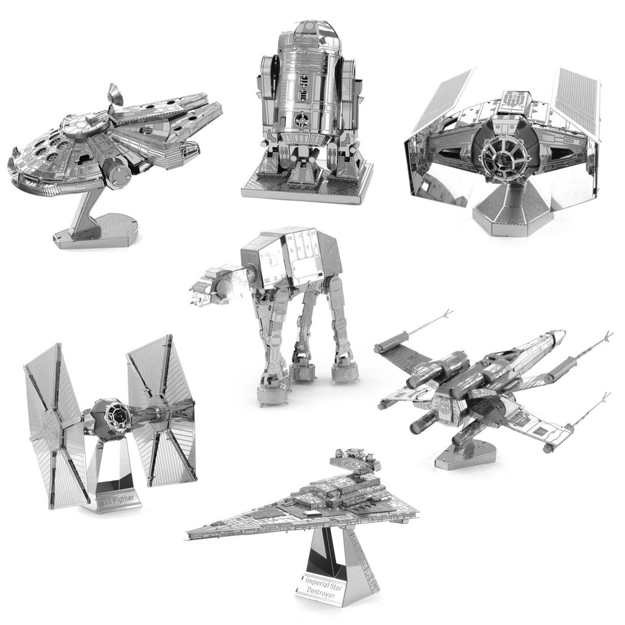 Deal: Star Wars Metal Sculptures