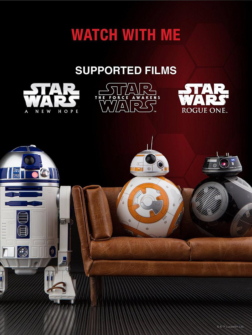 Sphero R2-D2 & BB-9E Robots