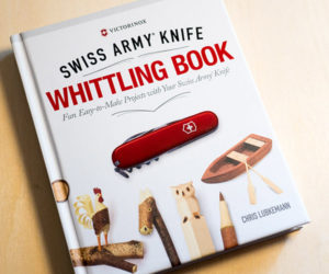 Swiss Army Knife Whittling Book