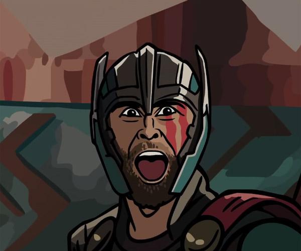 Thor: Ragnarok Trailer Spoof