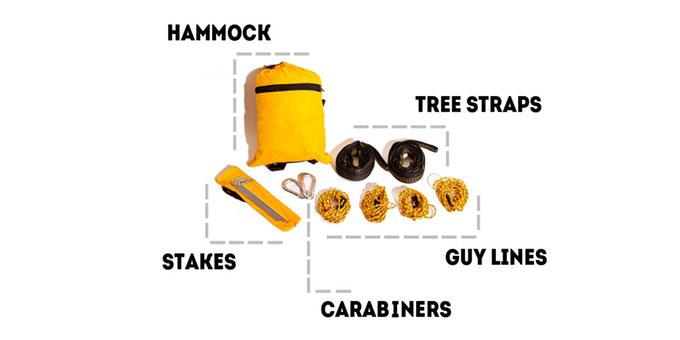 Treeo 3-in-1 Hammock