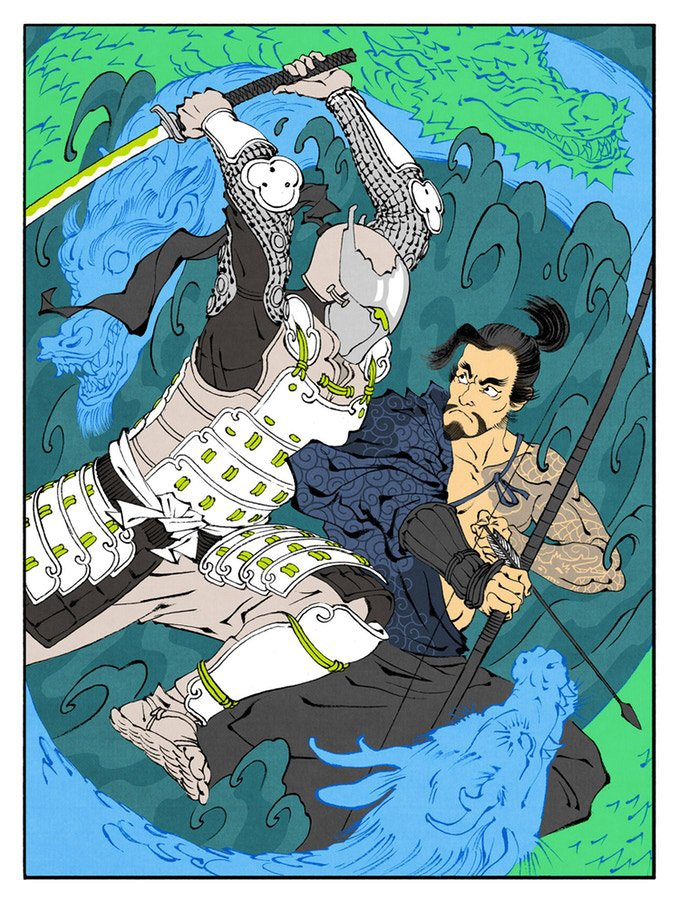 Ukiyo-e Heroes: Boss Fights