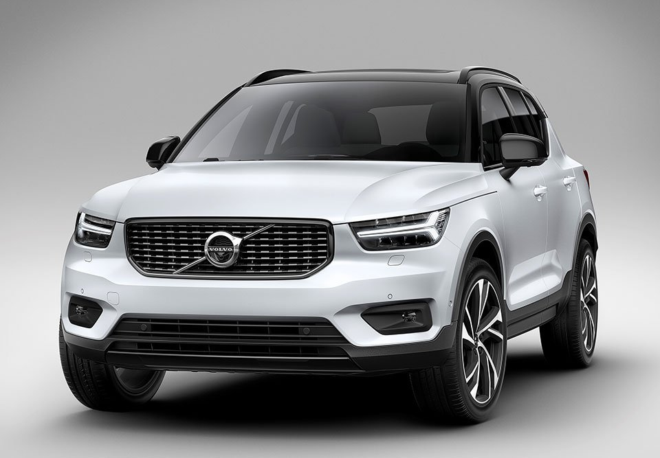 volvo joins the luxury compact suv niche with the new xc40. Black Bedroom Furniture Sets. Home Design Ideas