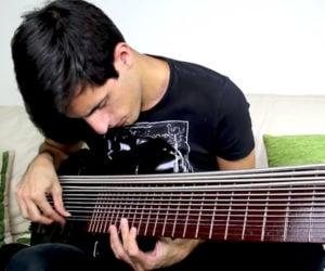 15-string Slap Bass Solo