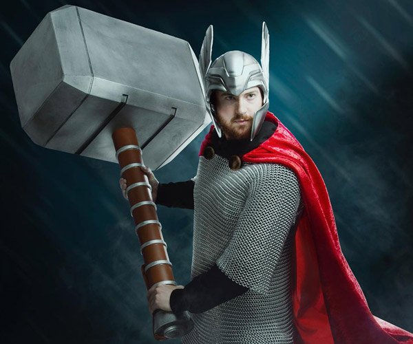 ThinkGeek Oversized Thor's Hammer