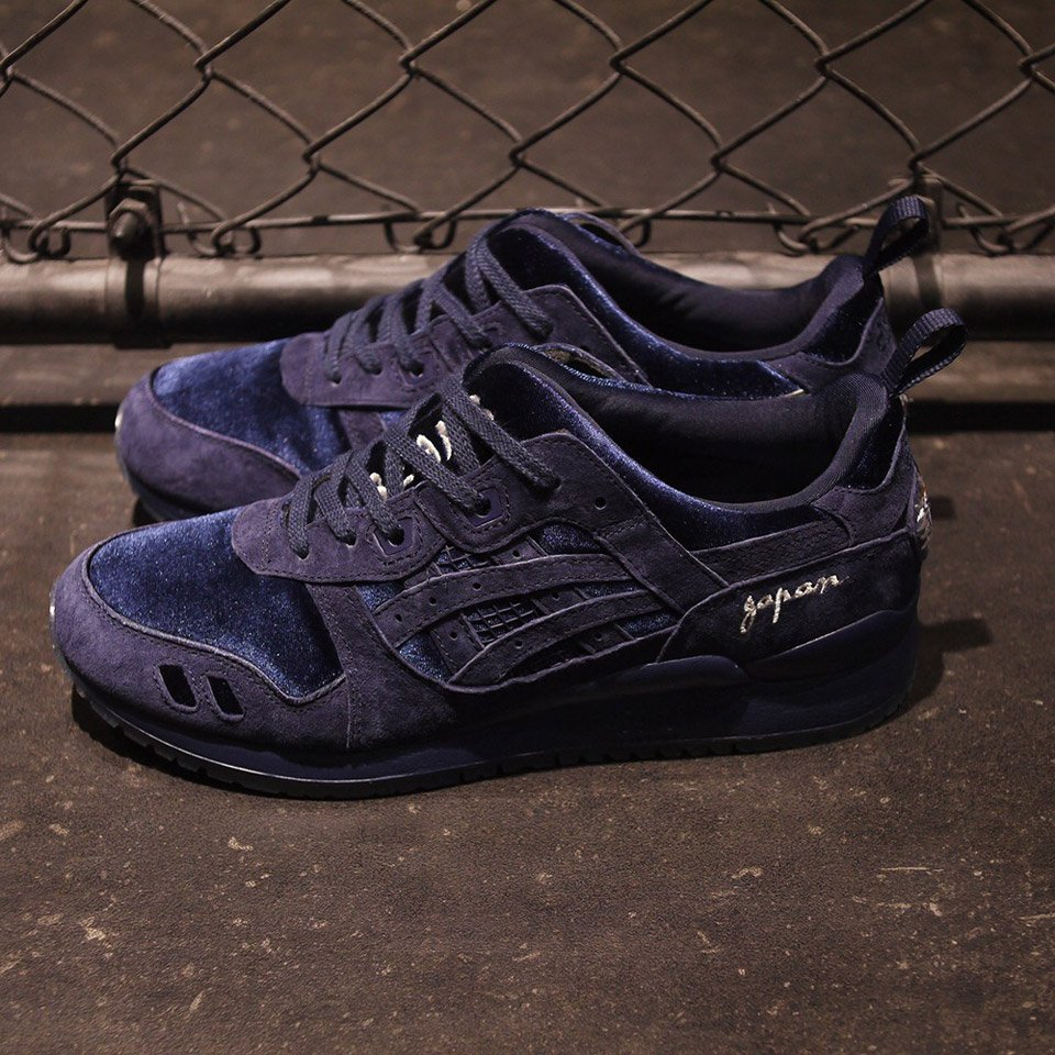 Asics, Beams and Mita Deck the Gel-Lyte III in Blue, Suede and Dragons