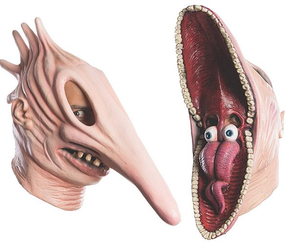 Beetlejuice Halloween Masks