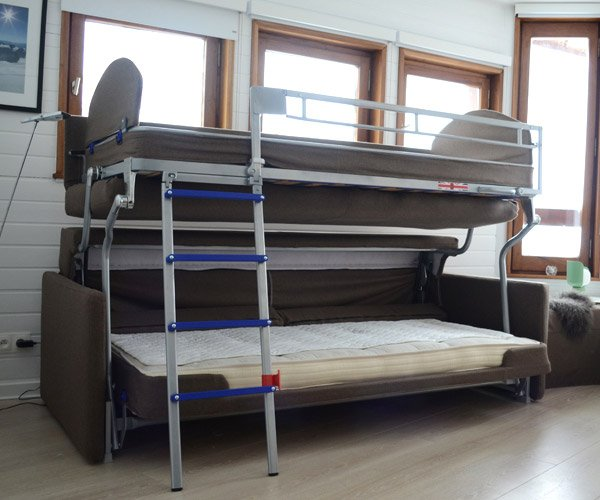 Bonbon Flip Sofa Bunk Bed