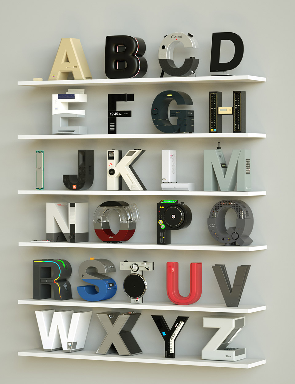 Brand Alphabet