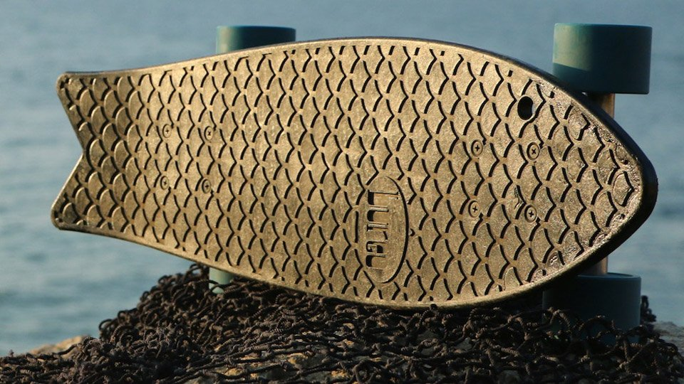 Bureo Recycled Net Skateboards