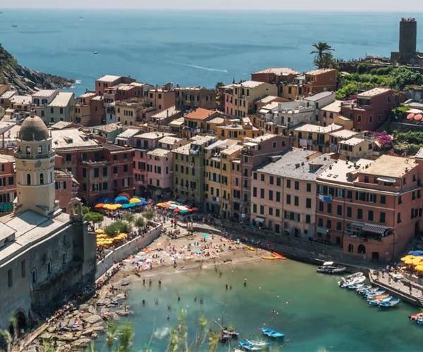 Cinque Terre: Time-lapse