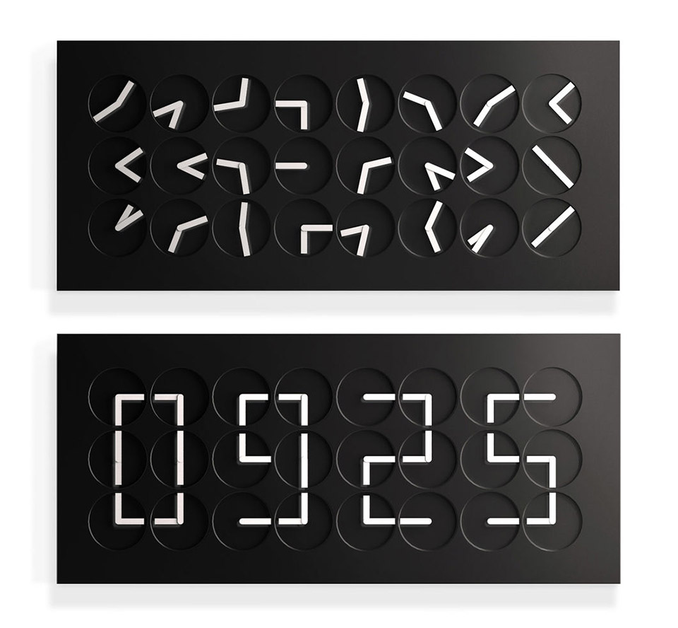 ClockClock 24 Black Edition