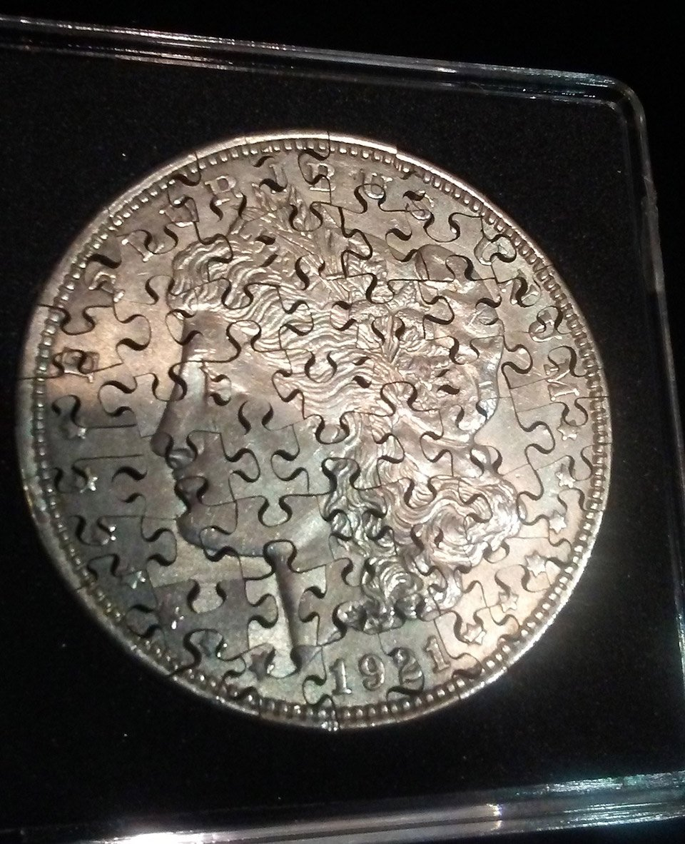 Coin Jigsaw Puzzles