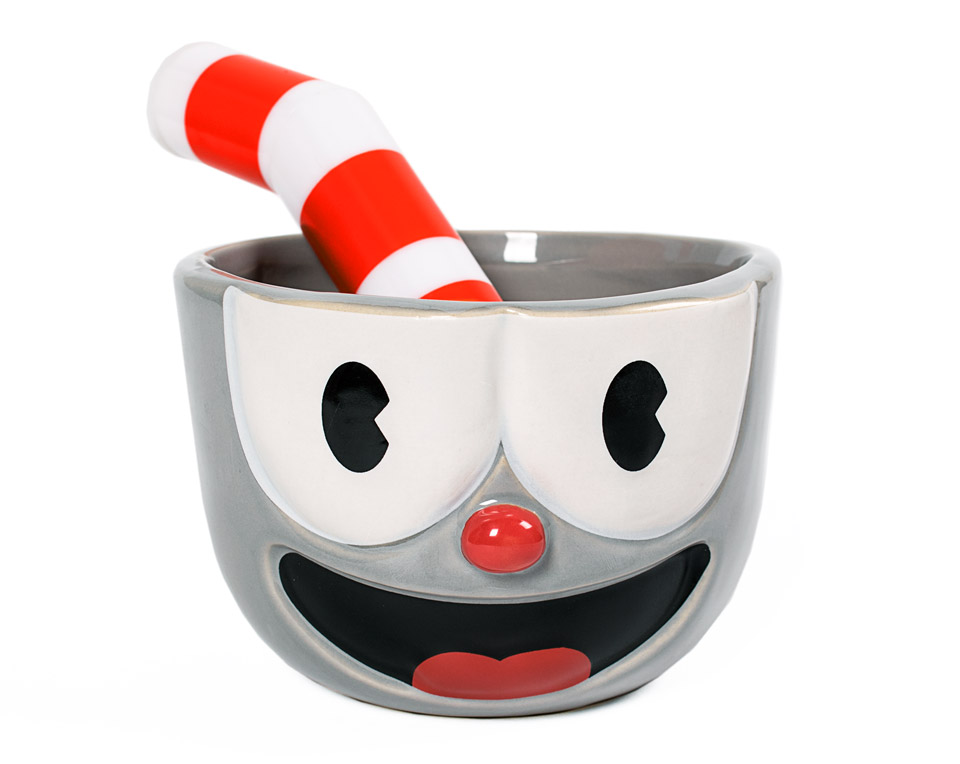 Pull Your Pants Up And Make Coffee With The Cuphead And