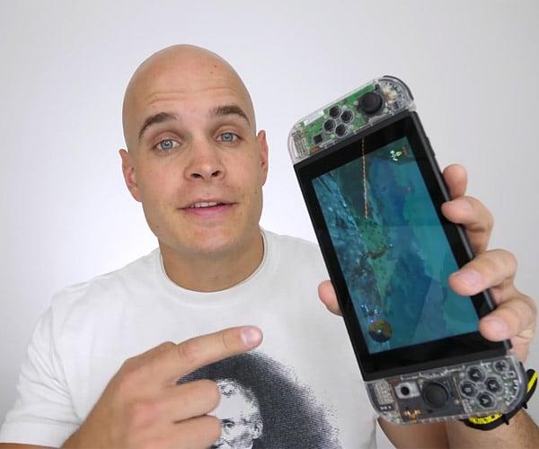 DIY Transparent Nintendo Switch