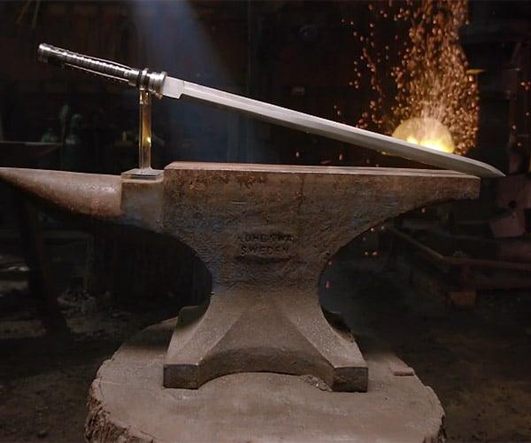 Forging Blade's Sword