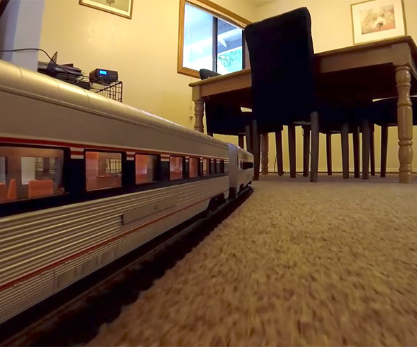 G-Scale Model Train Ride