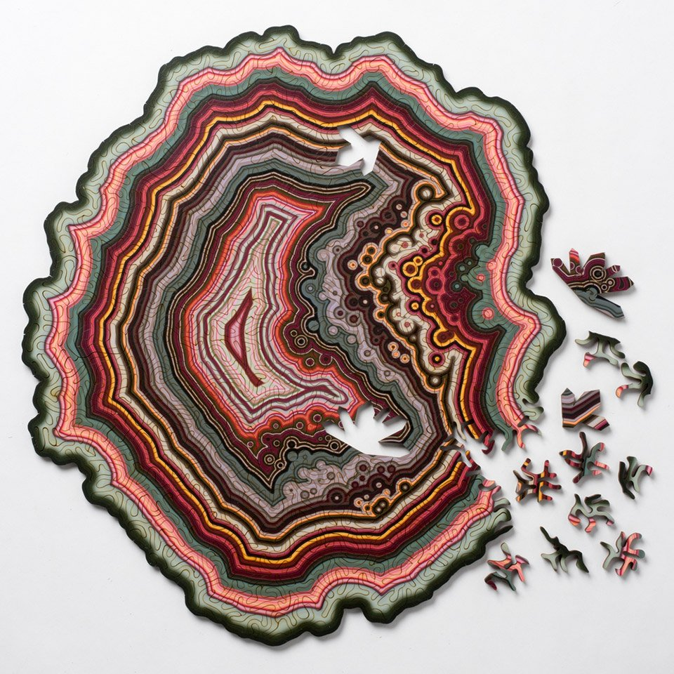 Geode Jigsaw Puzzles