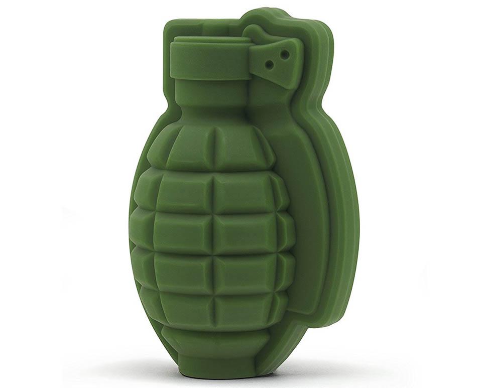 Grenade Ice Mold