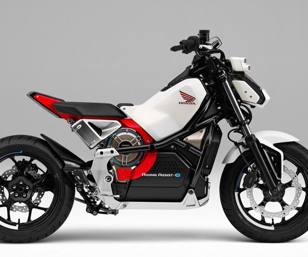 Honda Riding Assist-e Motorcycle