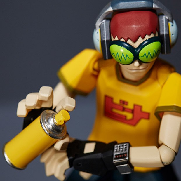 Jet Set Radio Action Figure