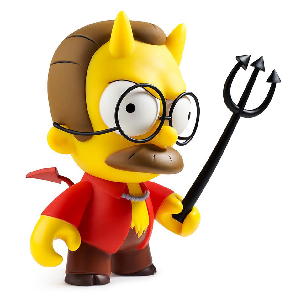 The Simpsons Devil Flanders Figure