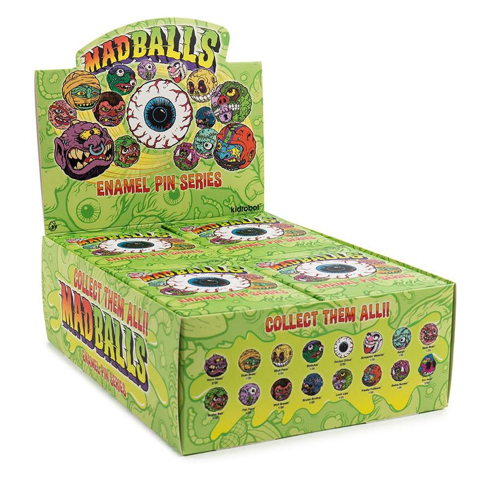 Kidrobot x Madballs Enamel Pins