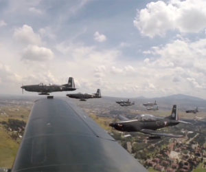 Large Formation Flight POV