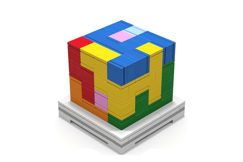 LEGO Puzzle Cube Concept
