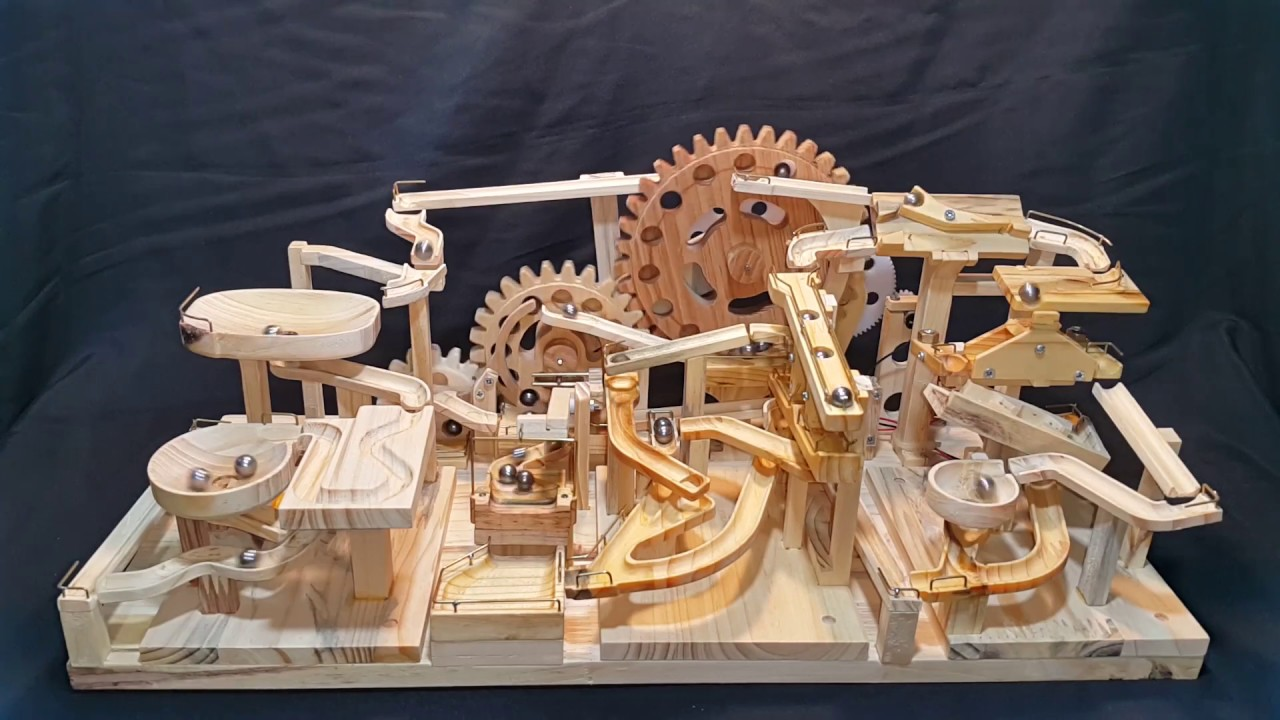 You Ll Be Mezmerized By This Modular Marble Machine