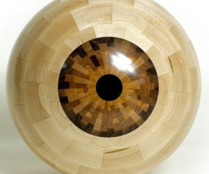 Making a Woodturned Eyeball