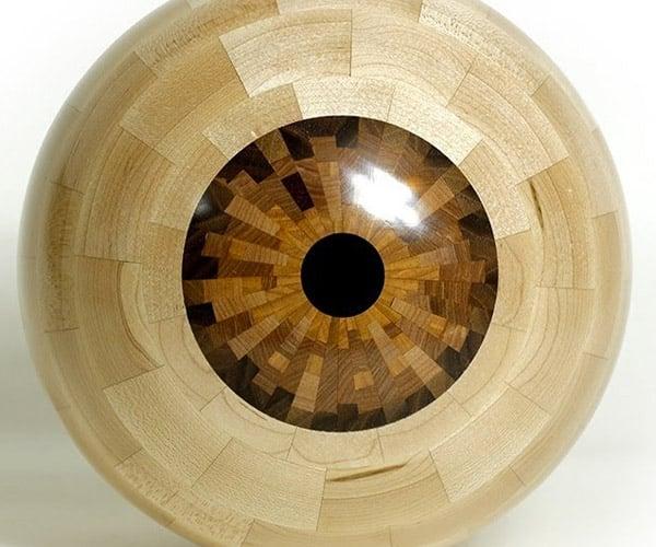 Making a Woodturned Eyeball