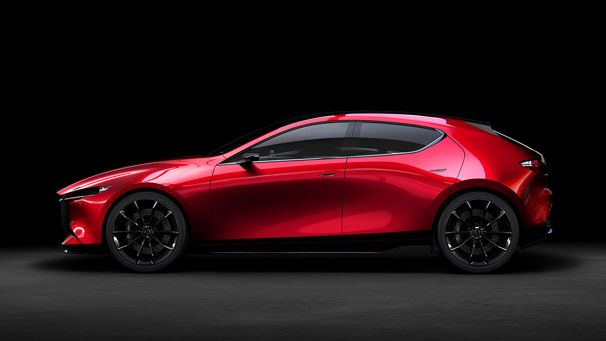 The Mazda Kai Concept Is A Stunning 5 Door Hatch To