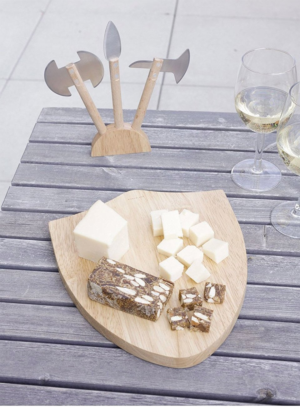Medieval Cheese Board