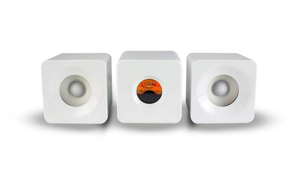Meters Cubed Bluetooth Speakers