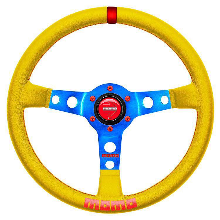 MyMOMO Custom Steering Wheel