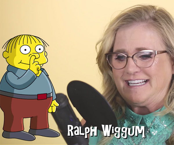Nancy Cartwright: Rapid-fire Simpsons