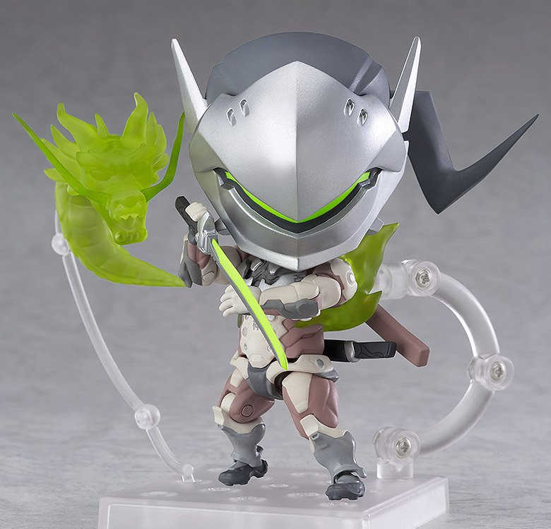 Overwatch S Genji And Hanzo Now Have Cute Nendoroid Action