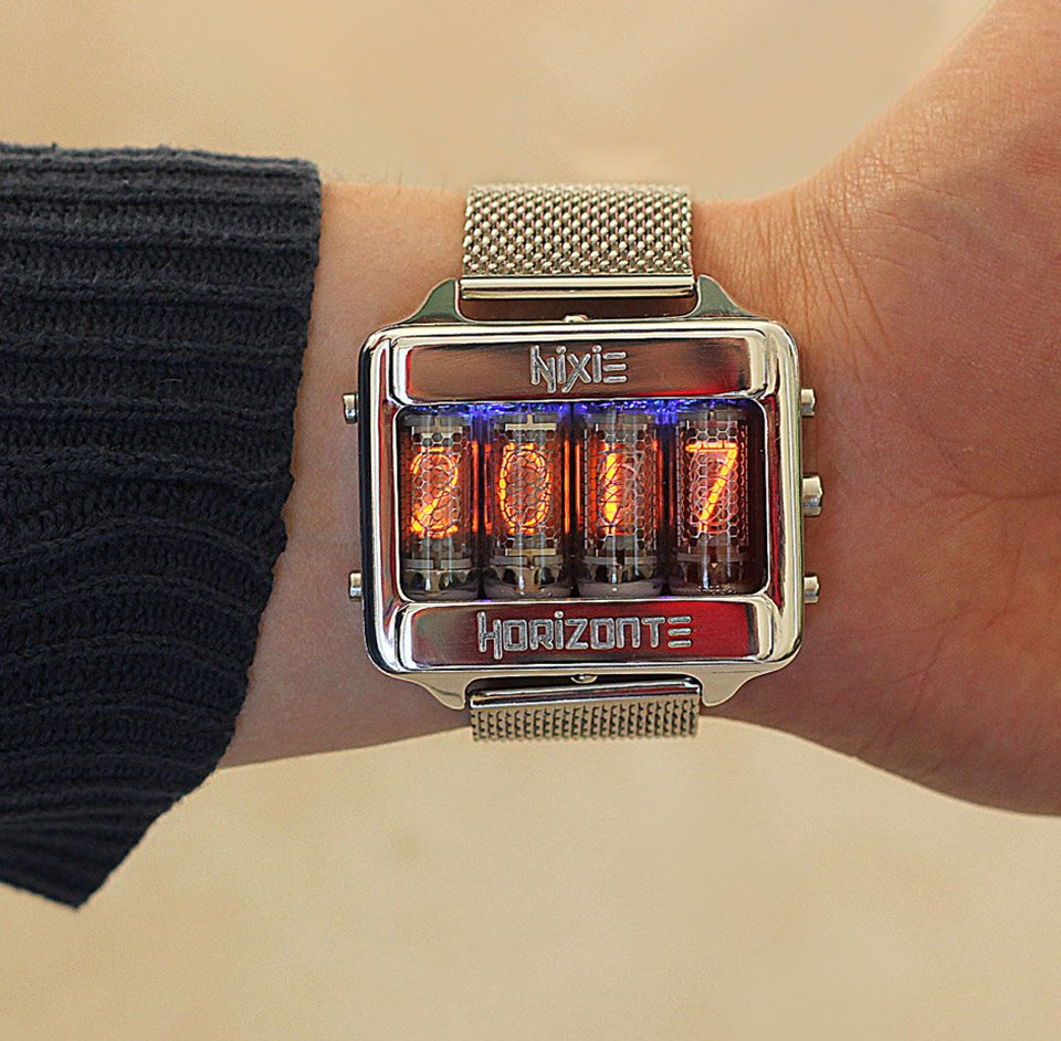 Nixie Horizonte Watch