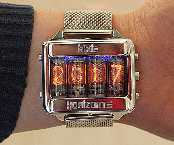 Nixie Horizonte Watch