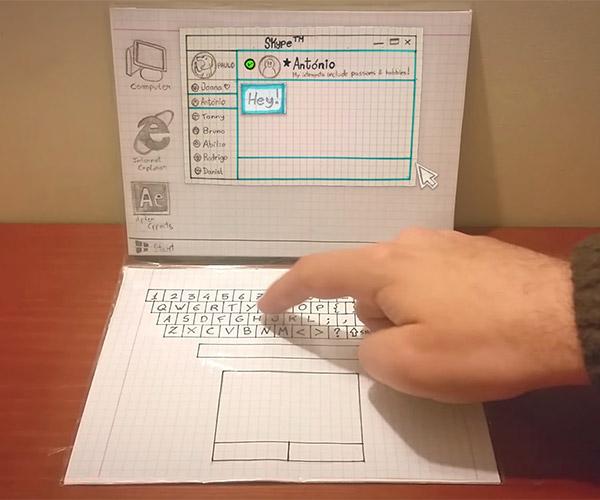 Paper Laptop
