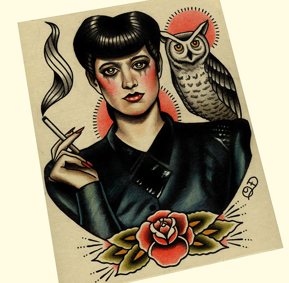 Parlor Tattoo Prints