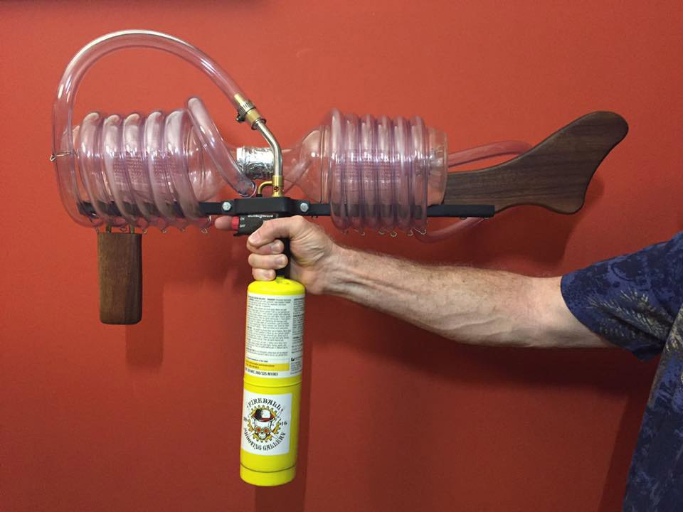Gun Cool Cars >> The Plasma Popper Fireball Gun Looks and Sounds Like an Alien Firearm