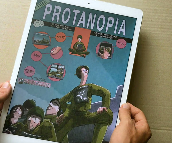 Protanopia Digital Comic for iOS