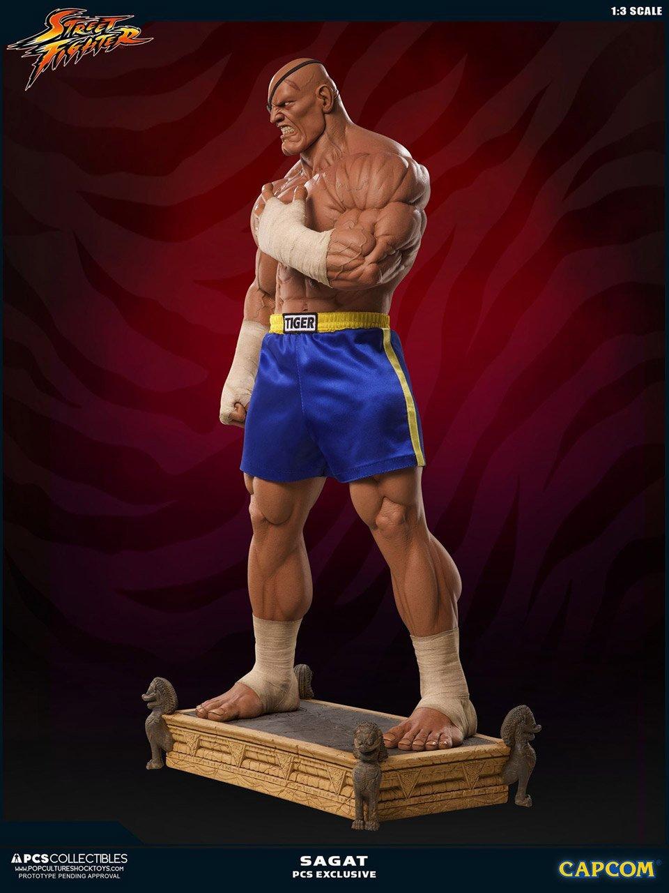 Street Fighter Sagat 1:3 Statue