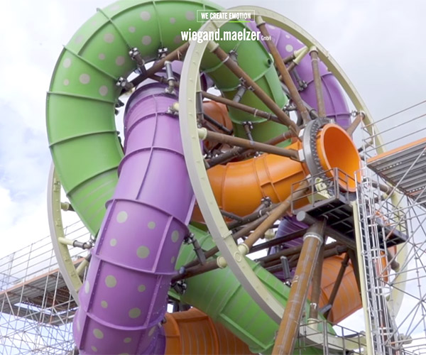 Slidewheel Water Slide