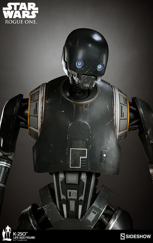 Life-size K-2SO Statue