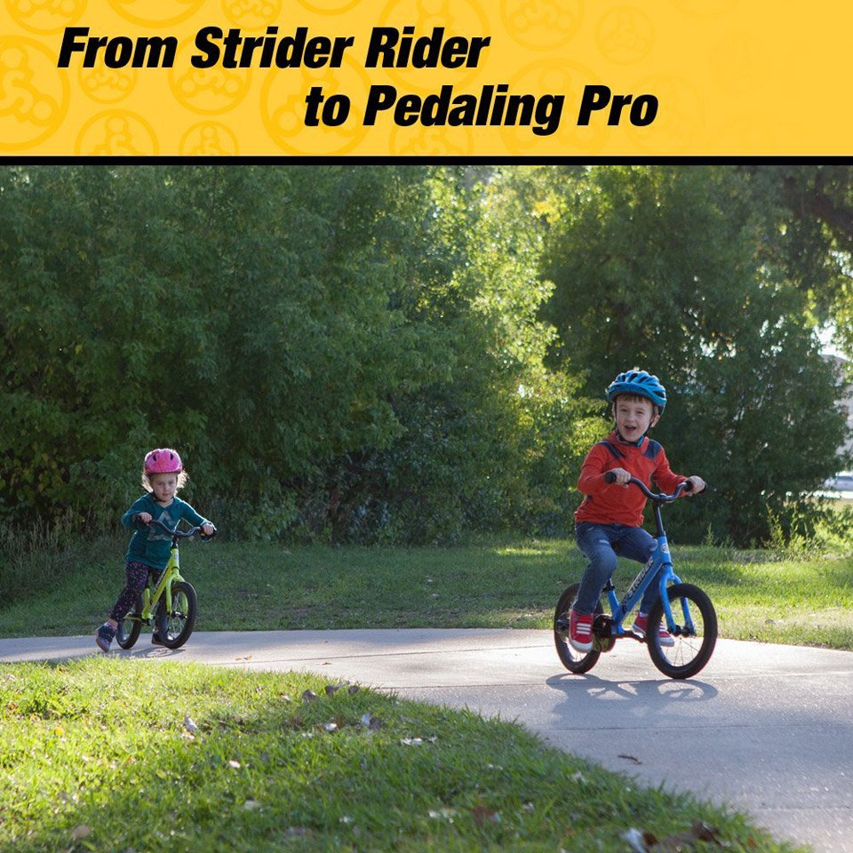 Strider 14X 2-in-1 Kids' Bike