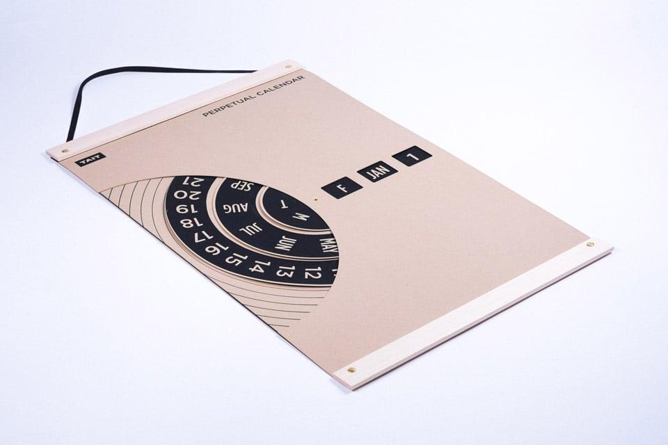 TAIT Design Perpetual Wall Calendar