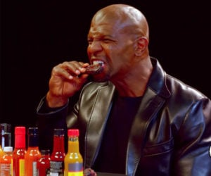Terry Crews vs. Hot Wings